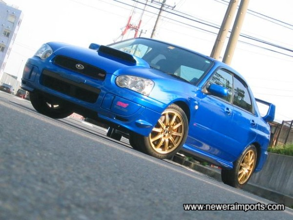 The Sti Version 8 - the car Subaru pulled out all the stops with - to perfect!