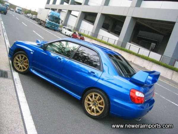 Sonic Blue - still the best colour for Imprezas!