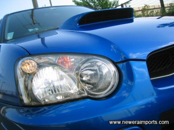 HID headlights - you'll rarely need to use full beam, they're that good.