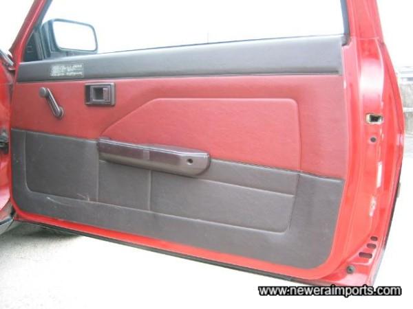 Original door trim