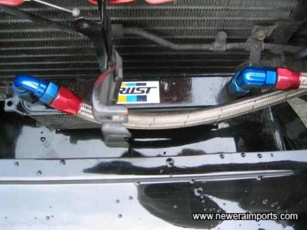 Trust oil cooler.