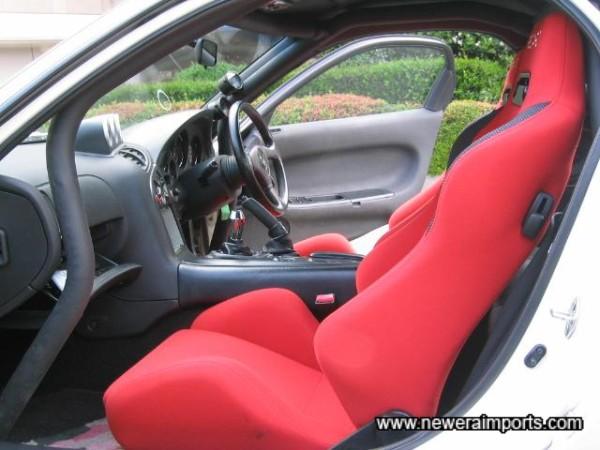 Matching Recaro Reclinable seats - As new.
