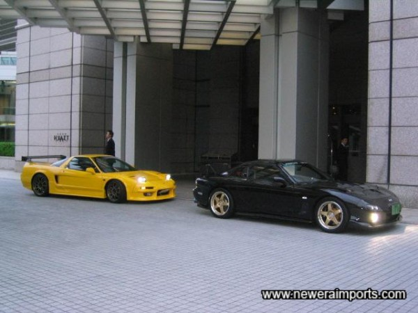 At the Hyatt, Tokyo - Presence anywhere with an NSX.