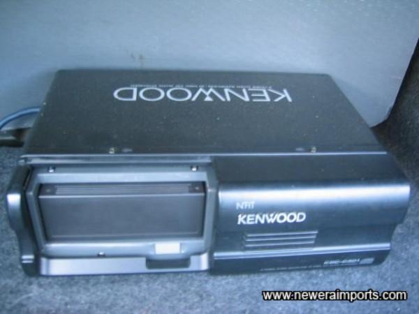 Kenwood 10 CD changer.