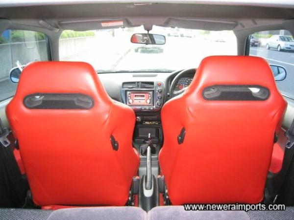 Seat Backs.