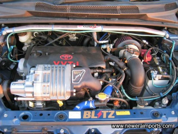 Roots type Supercharger!