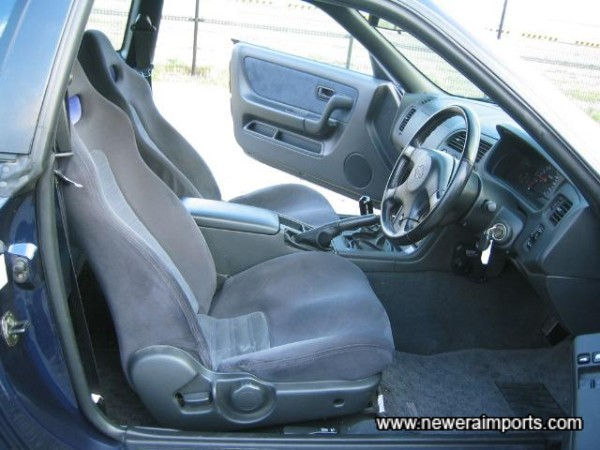 Interior in immaculate condition throughout.