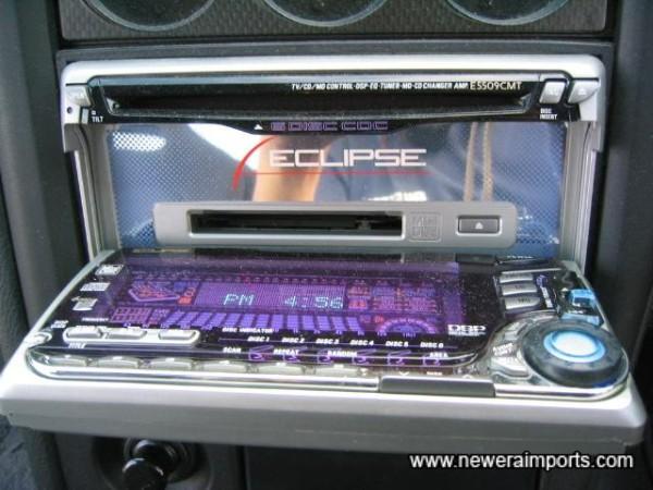 Built in 6 CD Changer, MD, Radio & ESP Graphic Equialiser.