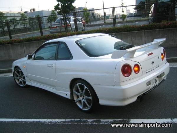 Rear wing is GT-R Style.
