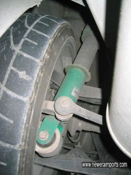 TEIN Coilover suspension.