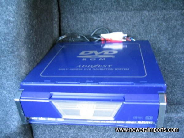 DVD reader for Sat Nav (Would need conversion to work in the UK).