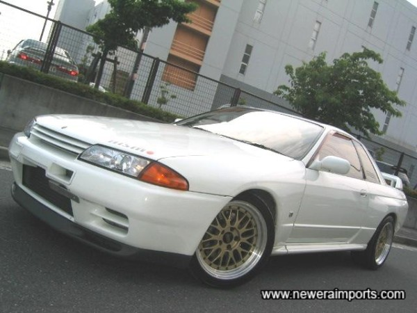 One of the last R32 GT-R's made...In top condition!