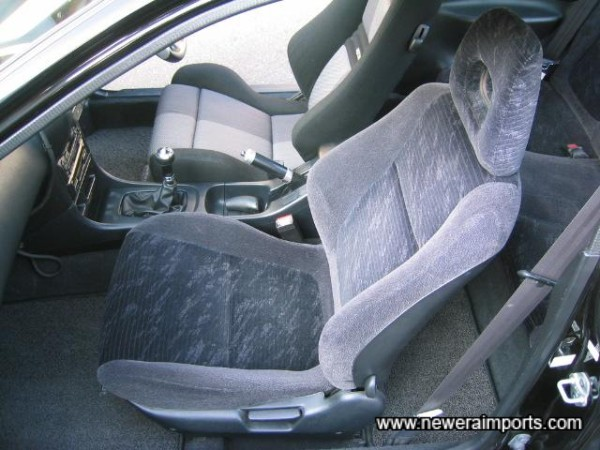 Interior shows little wear - a sign of low mileage of course.