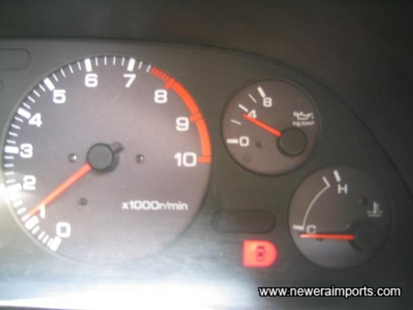High oil pressure at start up (Cold) temp.