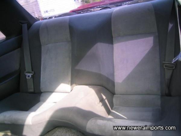 Rear seats look unused.