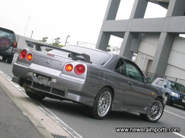 Awesome looks - similar to an R34 GT-R!