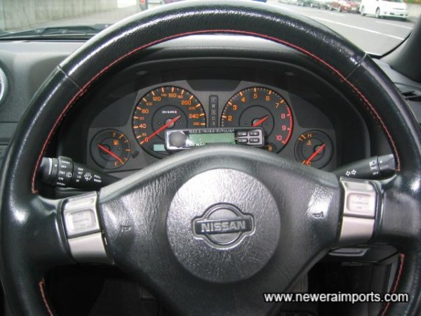 Used to be a tiptronic Auto. Conversion is perfect - carried out absolutely professionally.