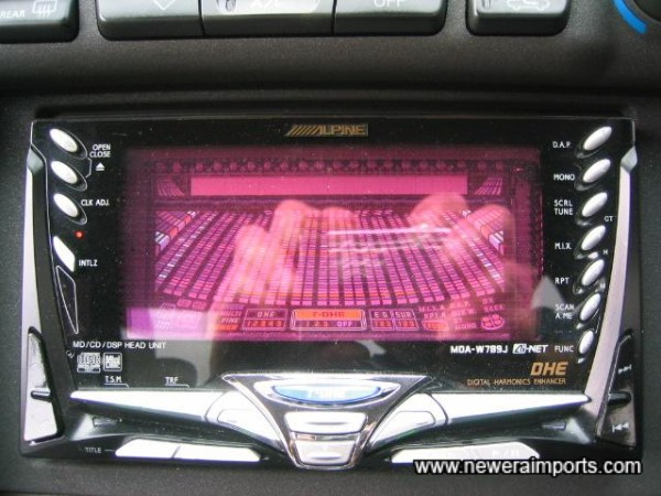 Alpine hifi - Worth £850 new in Japan, for just the head unit!