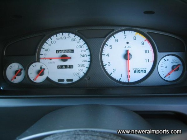 Nismo Gauge Clusters - As a complete set over £600 new.