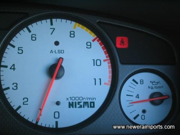 OPil pressure high at normal operating temp.