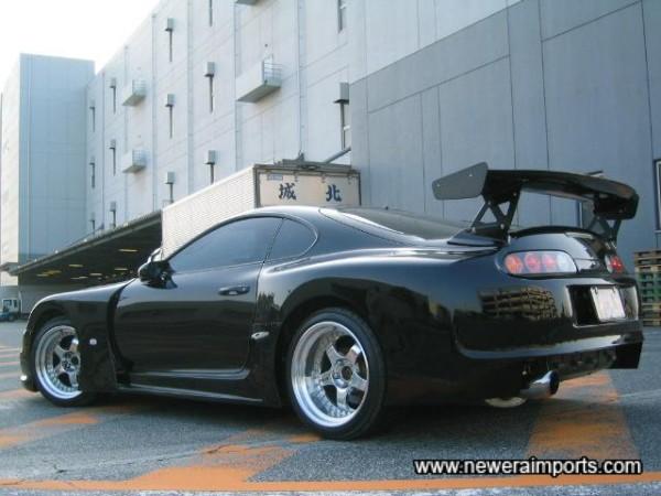 The 300GT bodykit was developed by Top Secret for GTTC Racing in Japan (3 litre class).