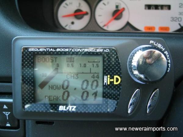 Latest model Blitz iD Solenoid boost controller.