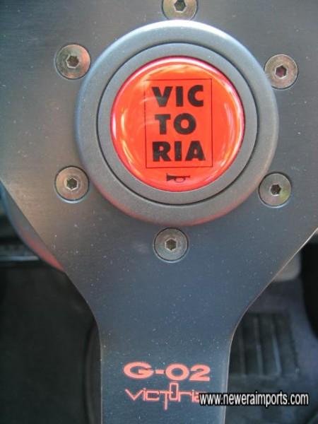 Uprated Steering Wheel.