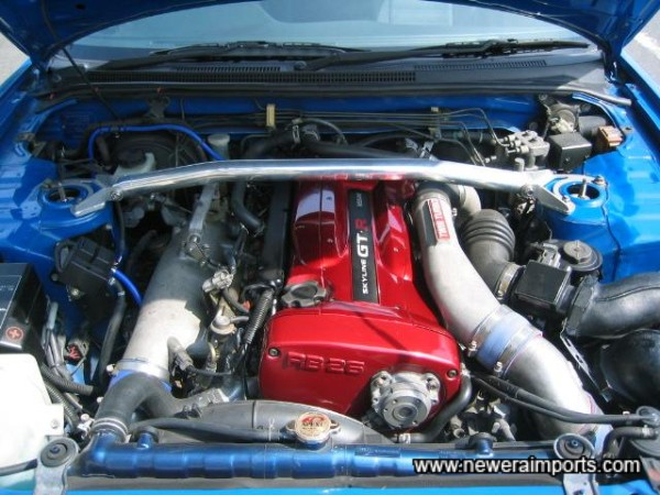 R34 GT-R very low mileage complete engine will all near new ancilliaries too.