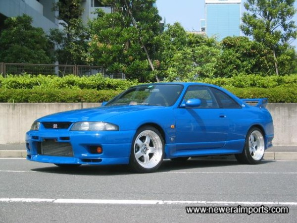 Only 80 GT-R LM R33 GT-R's were ever made!
