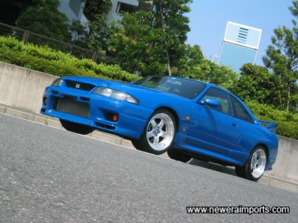 Panasport 18'' G7 2 piece forged lighweight alloys  suit this car perfectly.