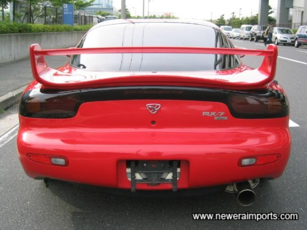 Looks a lot like a 1999 model. Rear lights can be upgraded to newer spec. for under £75.00!