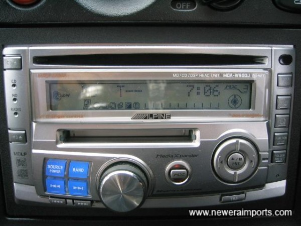 Alpine Hifi - 200W, MD/CD/Radio. Worth over £750 new in Japan!