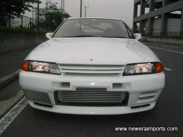 Nismo vents and the uprated intercooler give the front a much more agressive - classic GT-R look.