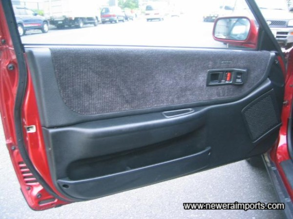 Door Cards are unmarked.