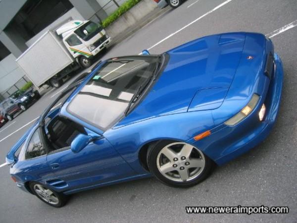 Carribbean Blue Metallic Turbo Rev 3 T-Bar!!!