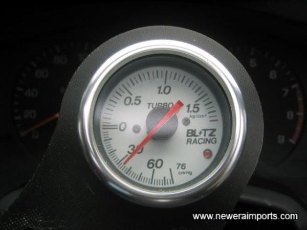 Blitz boost gauge.