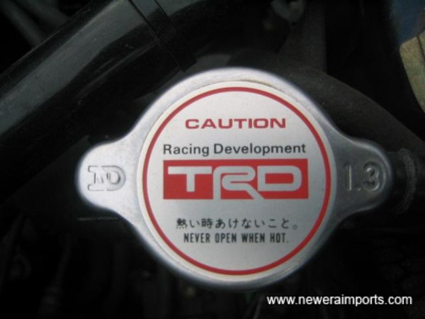 TRD Radiator cap.