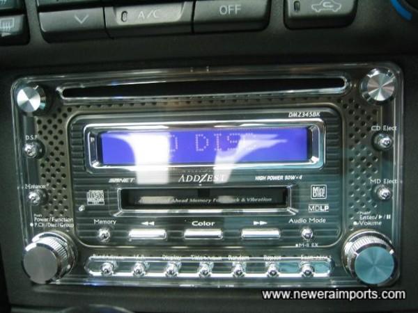 Addzest CD/MD/Radio with 200W of power. A very high quality unit!