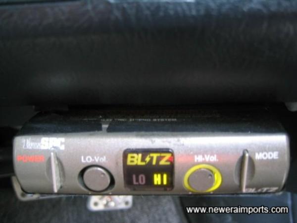 Blitz Solenoid Boost Controller.