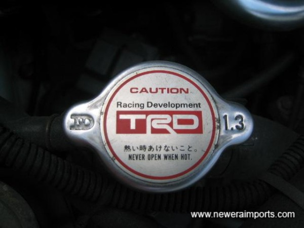 TRD Uprated radiator cap.