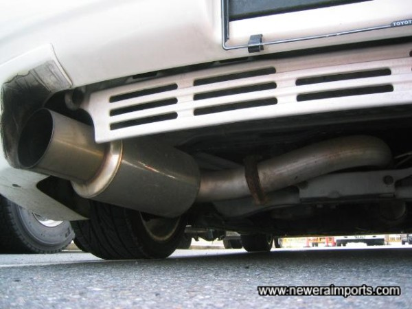 High Performance exhaust system.