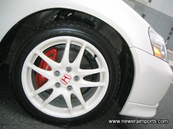 Brembos and 17'' alloys as standard!