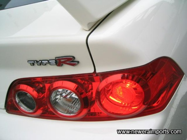 Redesigned rear lights.