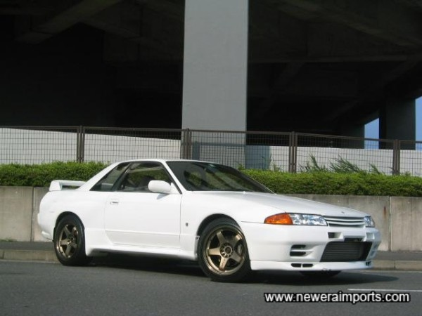 Car's enhanced well with Nismo forged lightweight alloys.