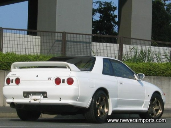 To us, white is the best colour for R32's - It shows off the muscular curves of the bodywork well.