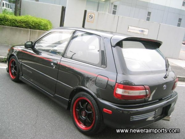 Wheels and bodykit enhance this example well.