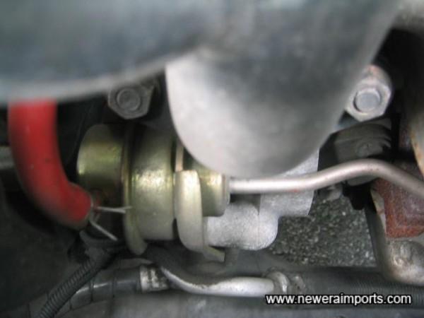 Uprated turbo actuator.