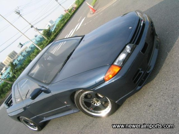 Nismo alloys and full aero parts set this car of very well!