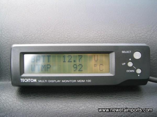 Techtom readout LED unit!