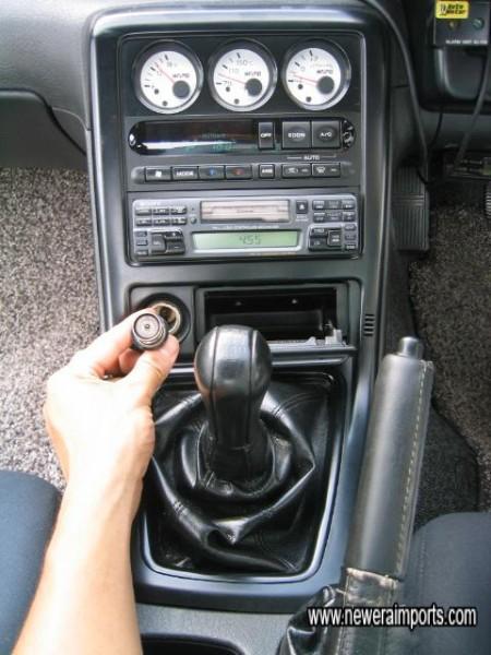 A non smoker's car.